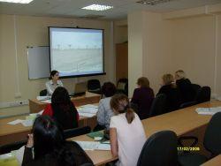 Лектор семинара, управляющий партнер JBI Group Проскурина О.В.